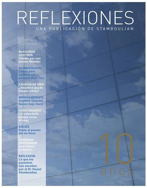 Tapa Revista Reflexiones 21